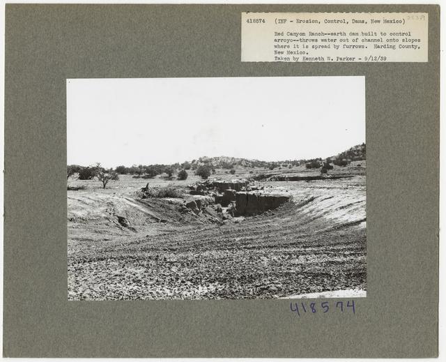 Erosion Control: Gully Plug - New Mexico