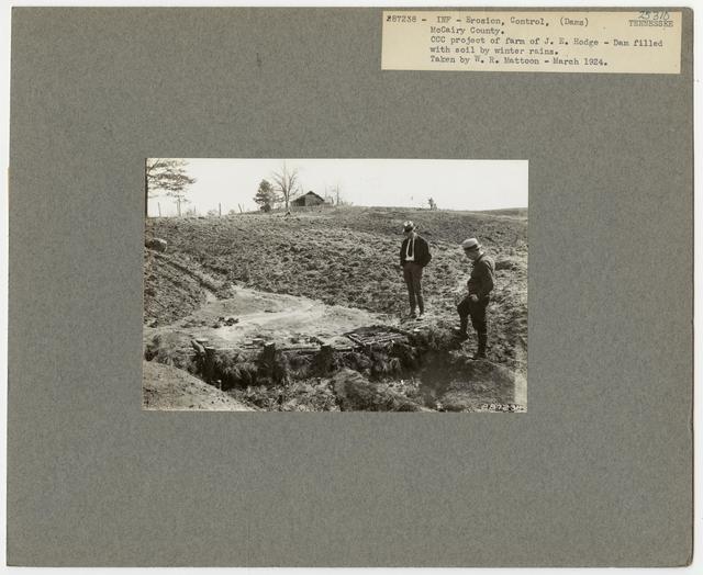 Erosion Control: Gully Plug - Tennessee