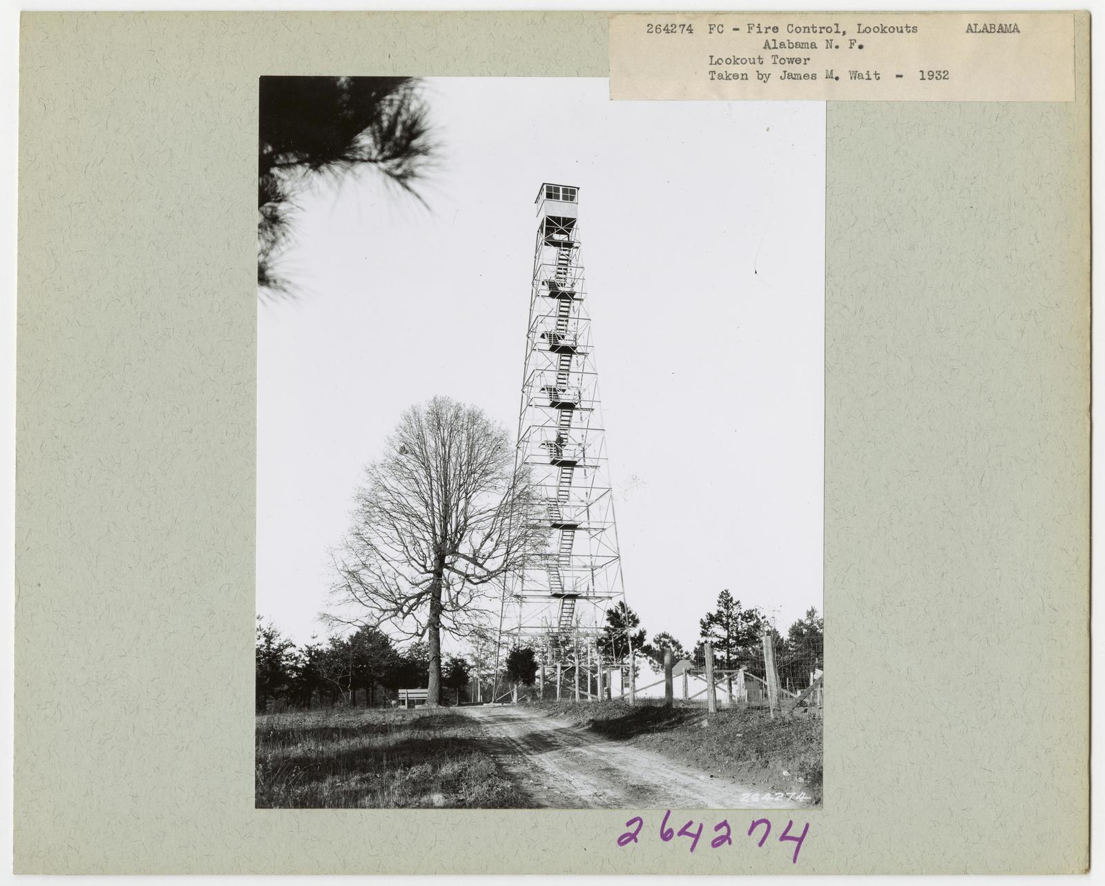 Fire Control: Lookouts - Alabama