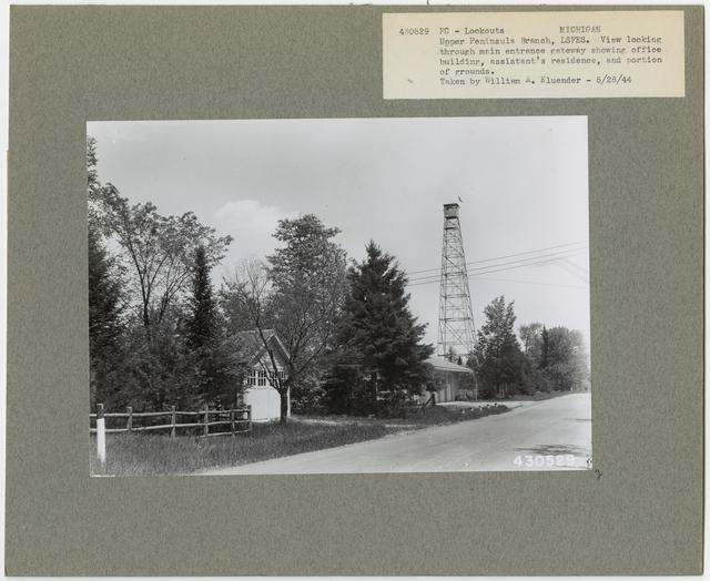 Fire Control: Lookouts - Michigan