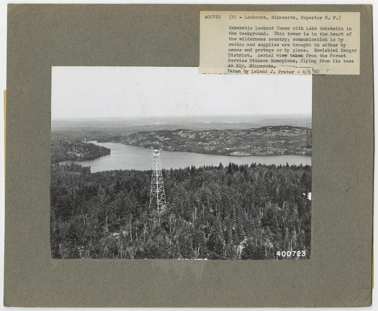 Fire Control: Lookouts - Minnesota