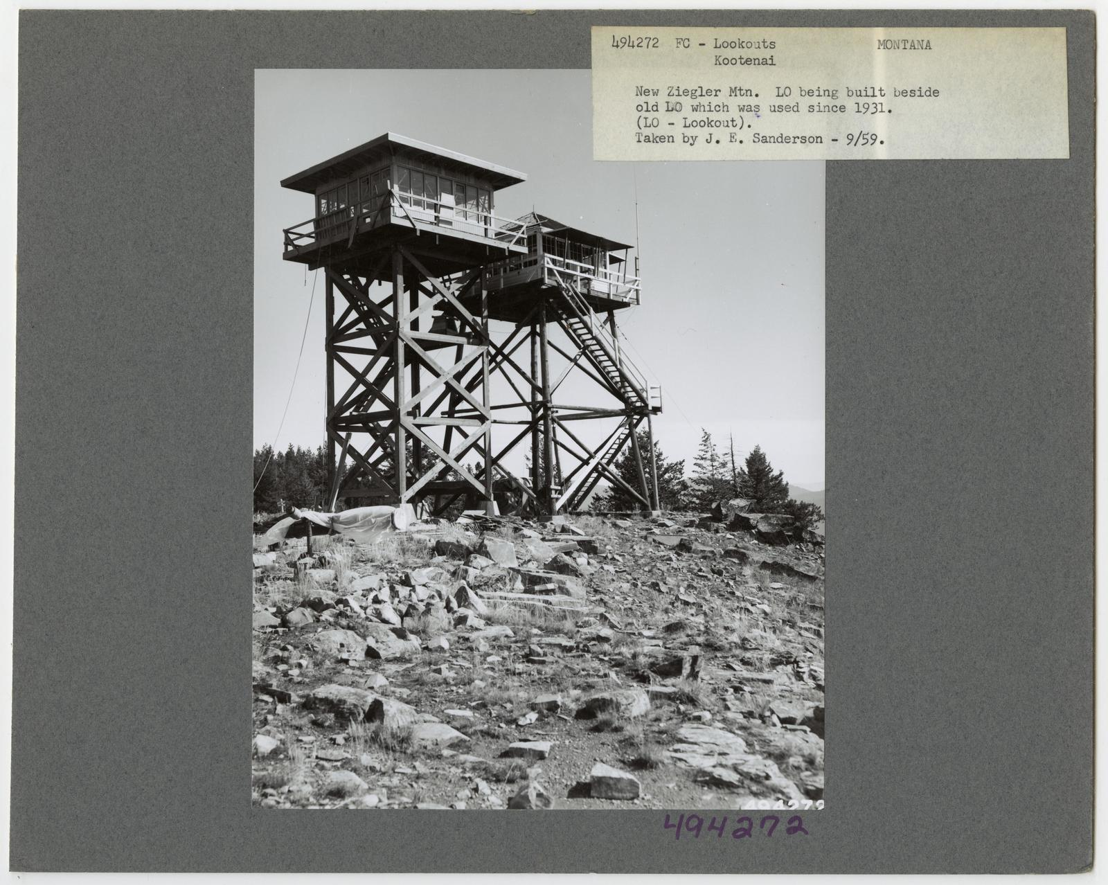 Fire Control: Lookouts - Montana