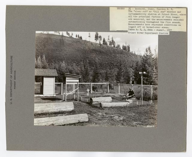Fire Control Research - Idaho