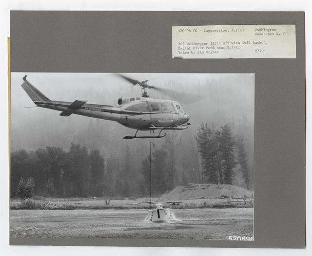 Fire Suppression: Aerial Slurry Drops - Washington