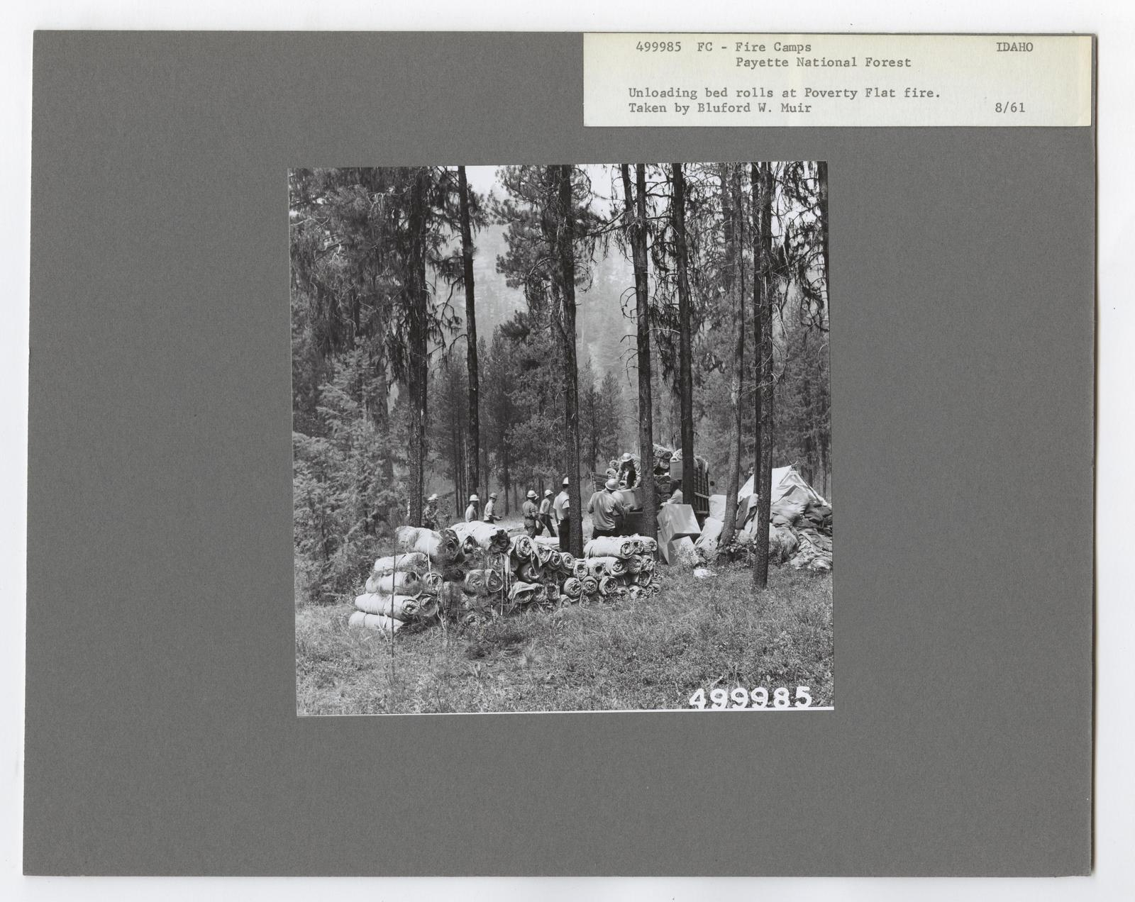 Forest Fire Camps - Idaho