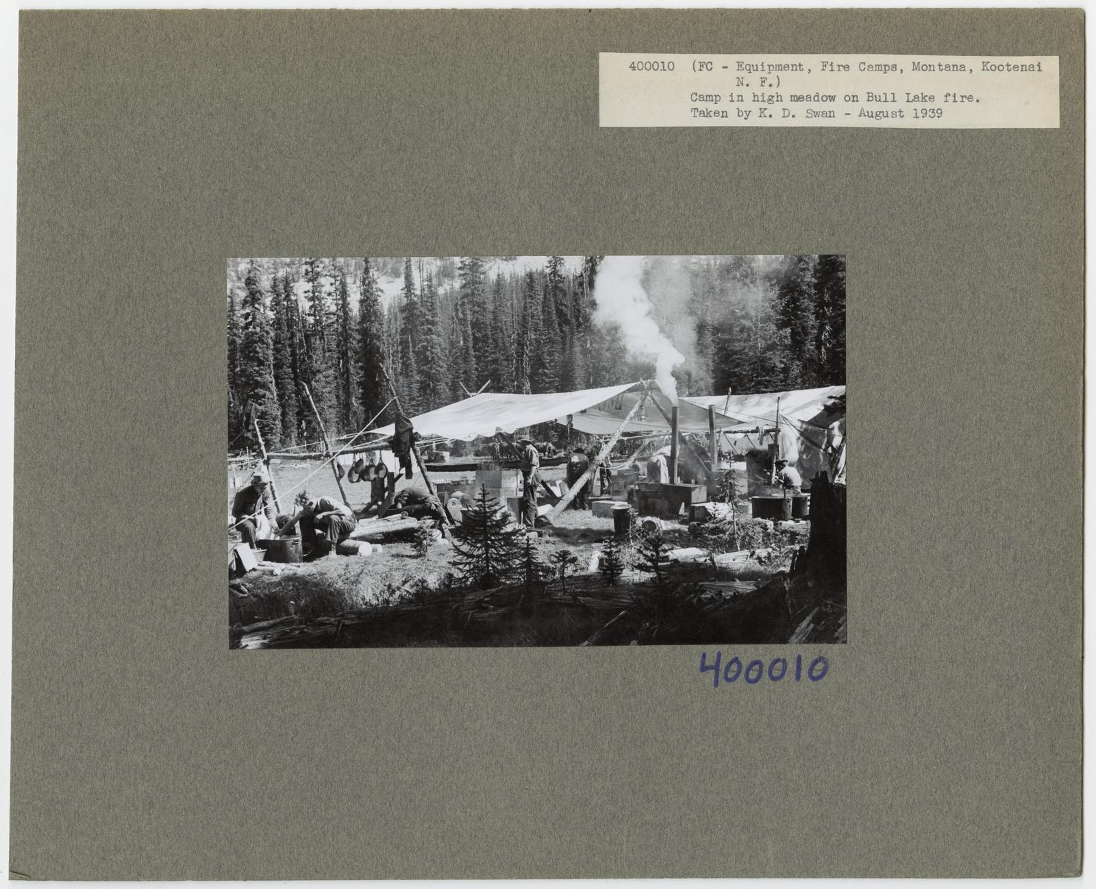 Forest Fire Camps - Montana