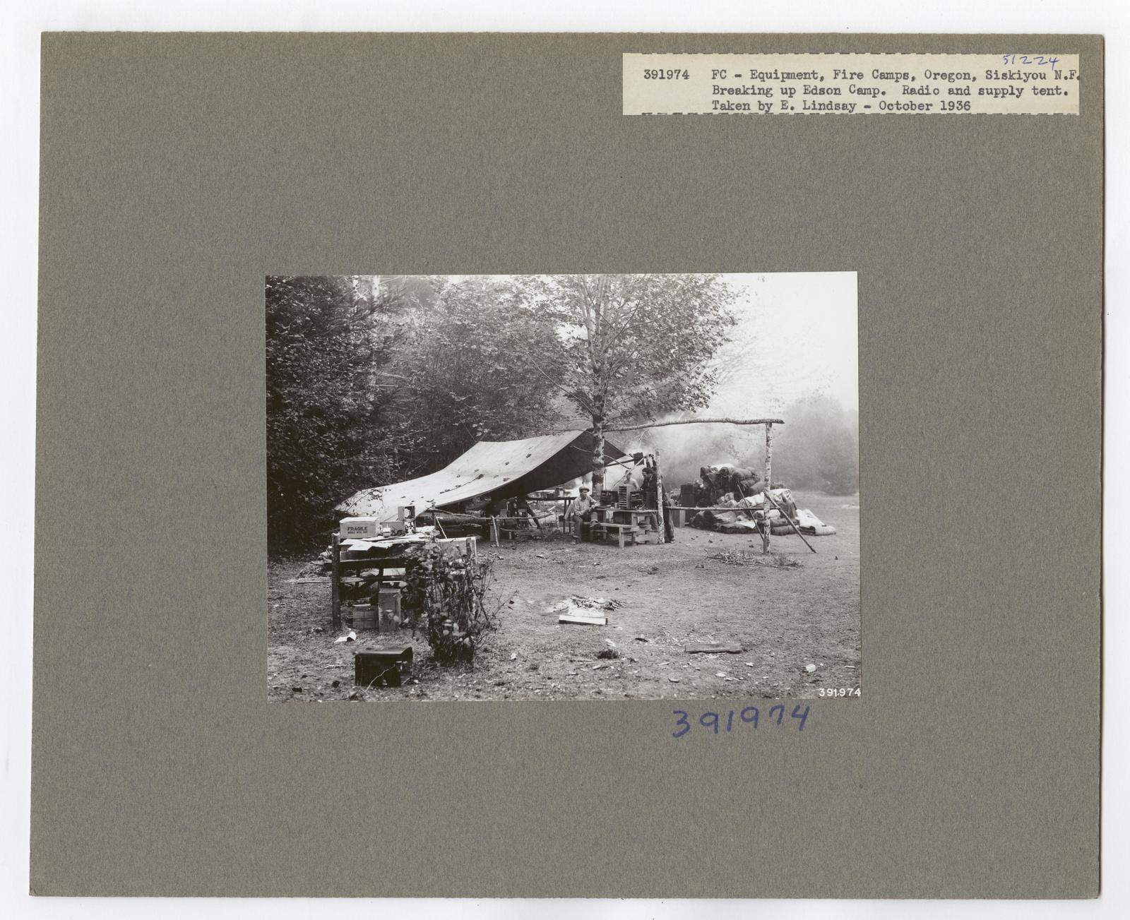 Forest Fire Camps - Oregon
