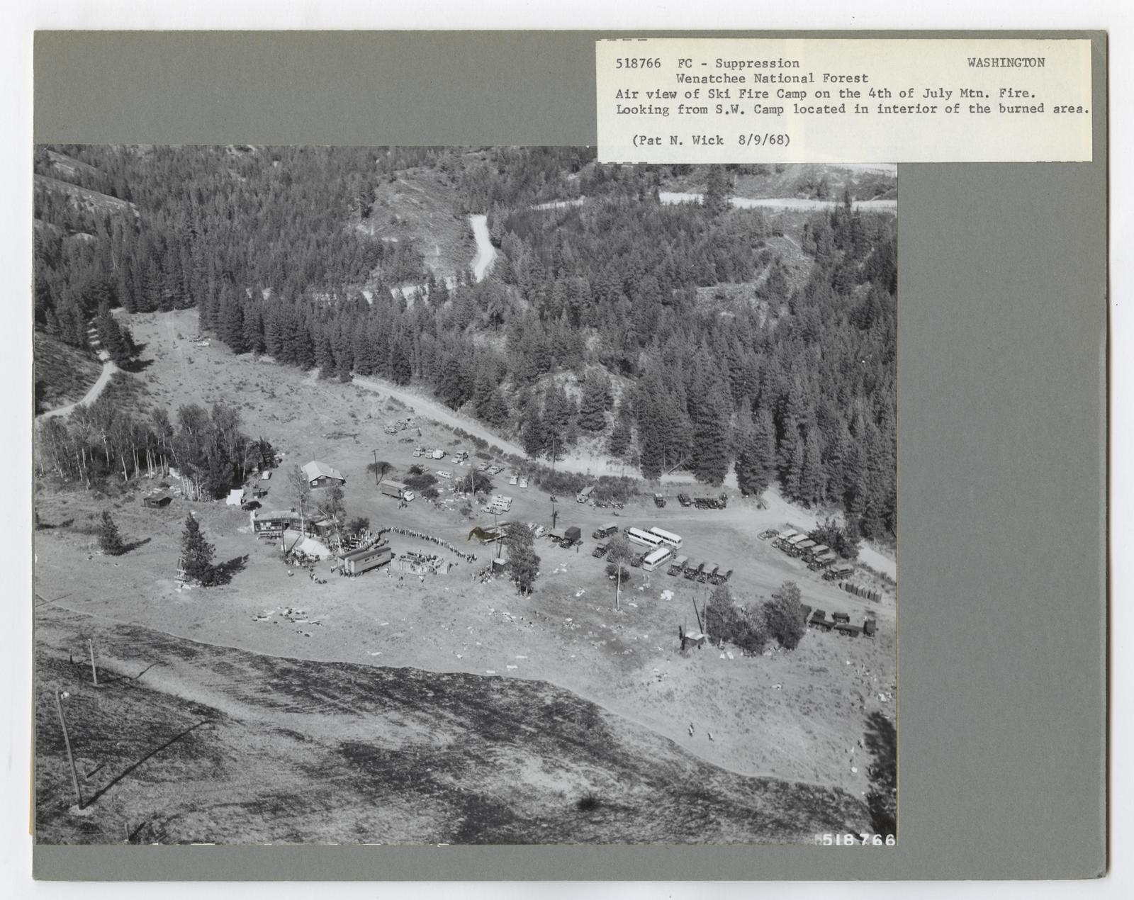Forest Fire Camps - Washington
