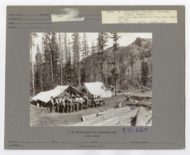Forest Fire Camps - Wyoming