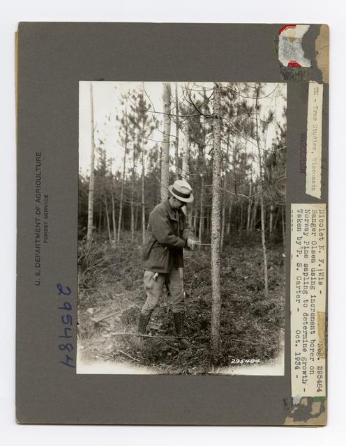 Forest Mensuration: Surveying/Studies - Wisconsin