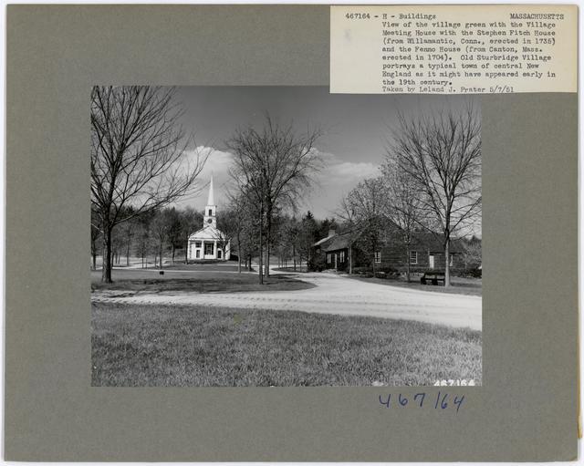 Historical Buildings - Massachusetts