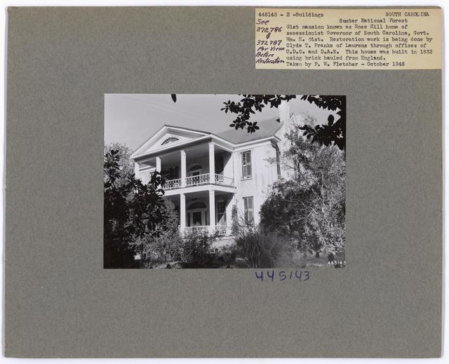 Historical Buildings - South Carolina