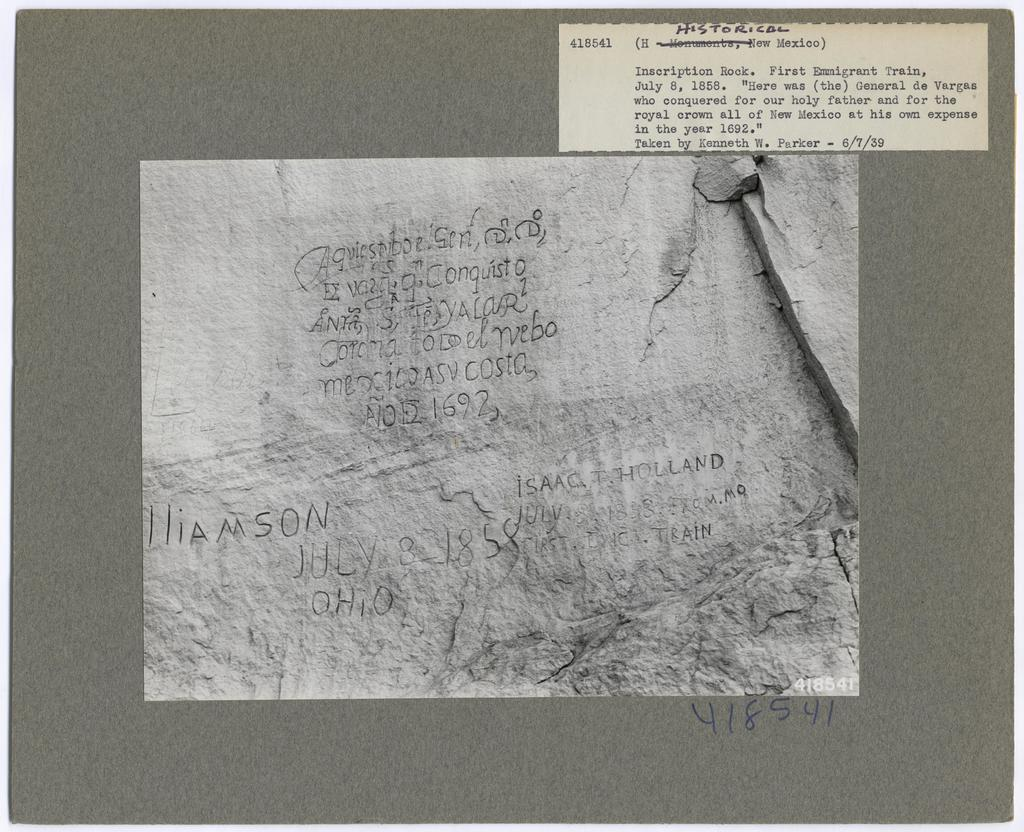 Historical Miscellaneous - New Mexico