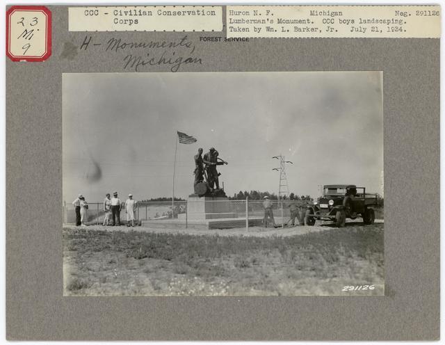 Historical Monuments - Michigan
