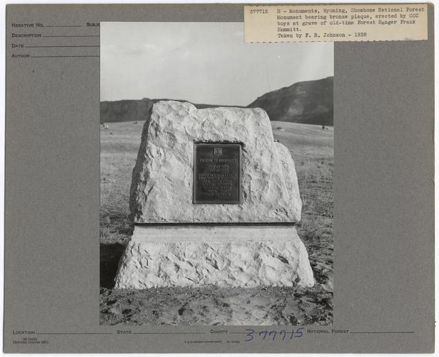 Historical Monuments - Wyoming