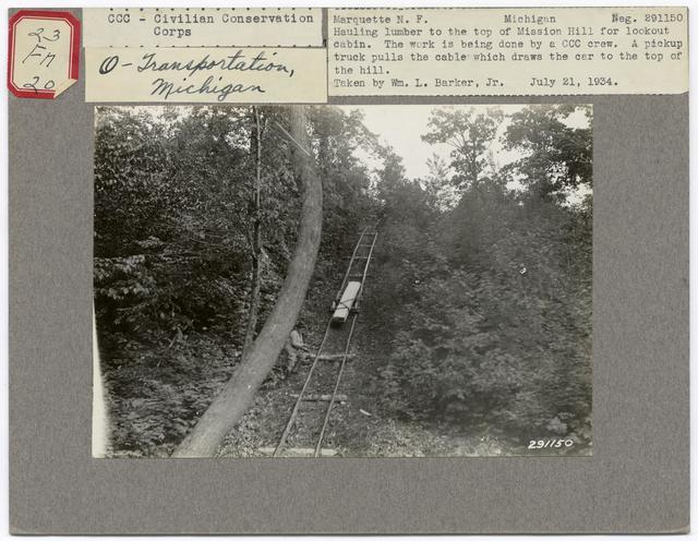 Historical Transportation - Michigan