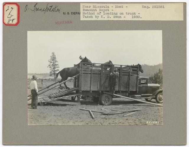 Historical Transportation - Montana