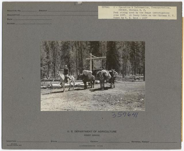 Historical Transportation - Oregon