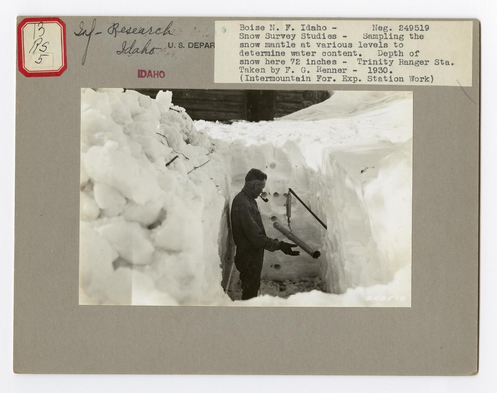 Instrumentation: Climatic - Idaho