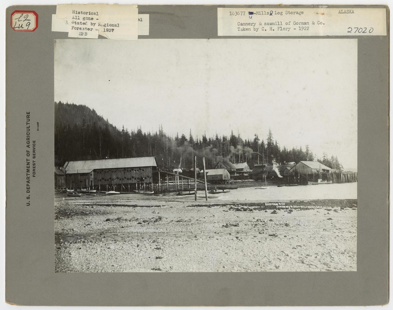 Large Sawmills - Alaska