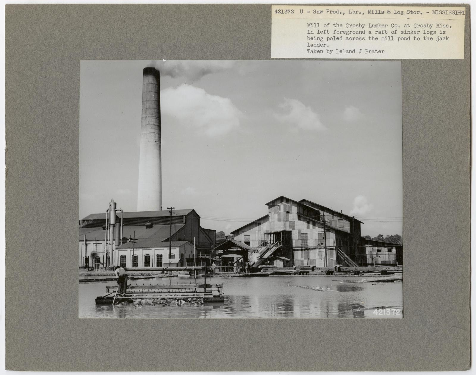 Large Sawmills - Mississippi