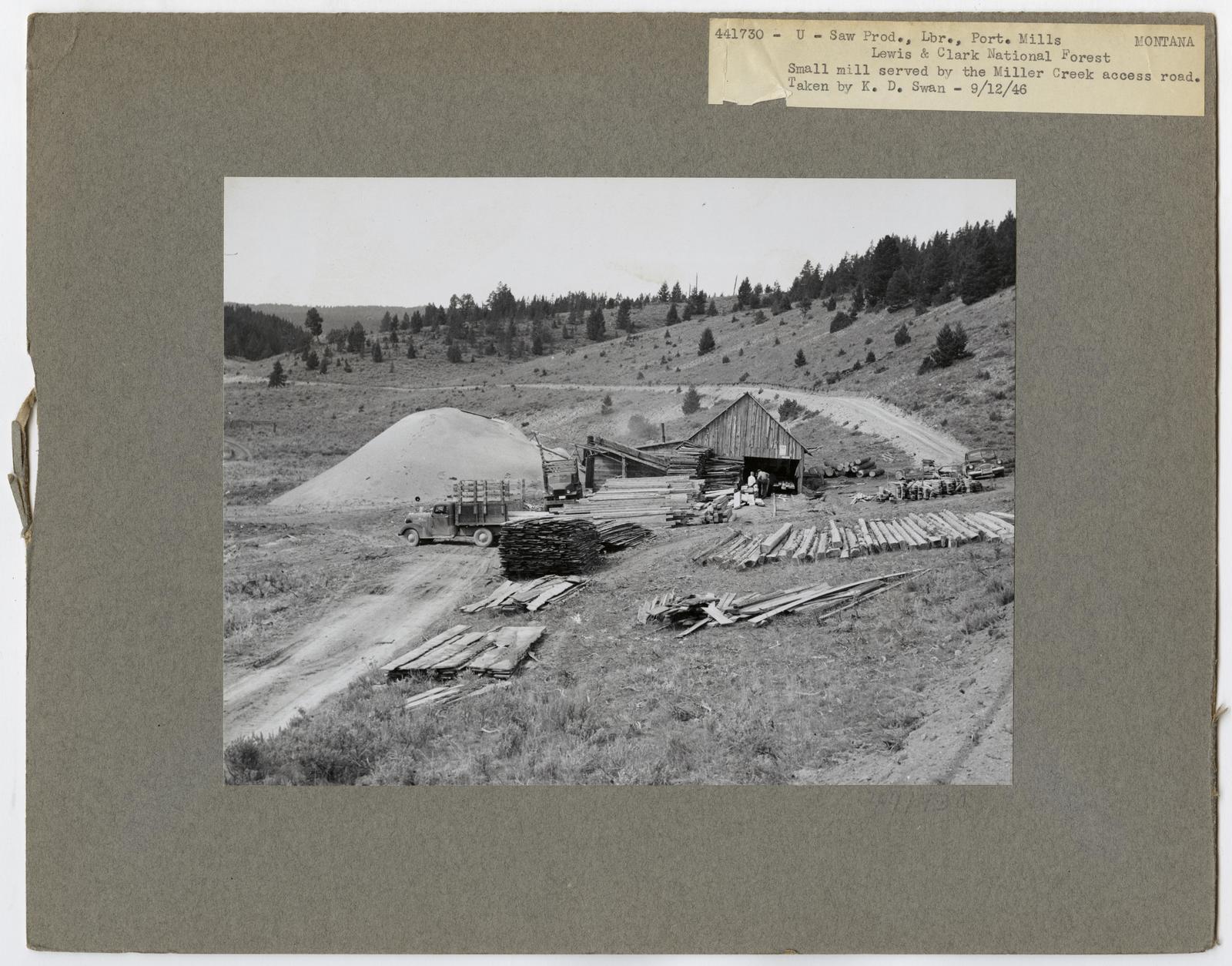 Large Sawmills - Montana