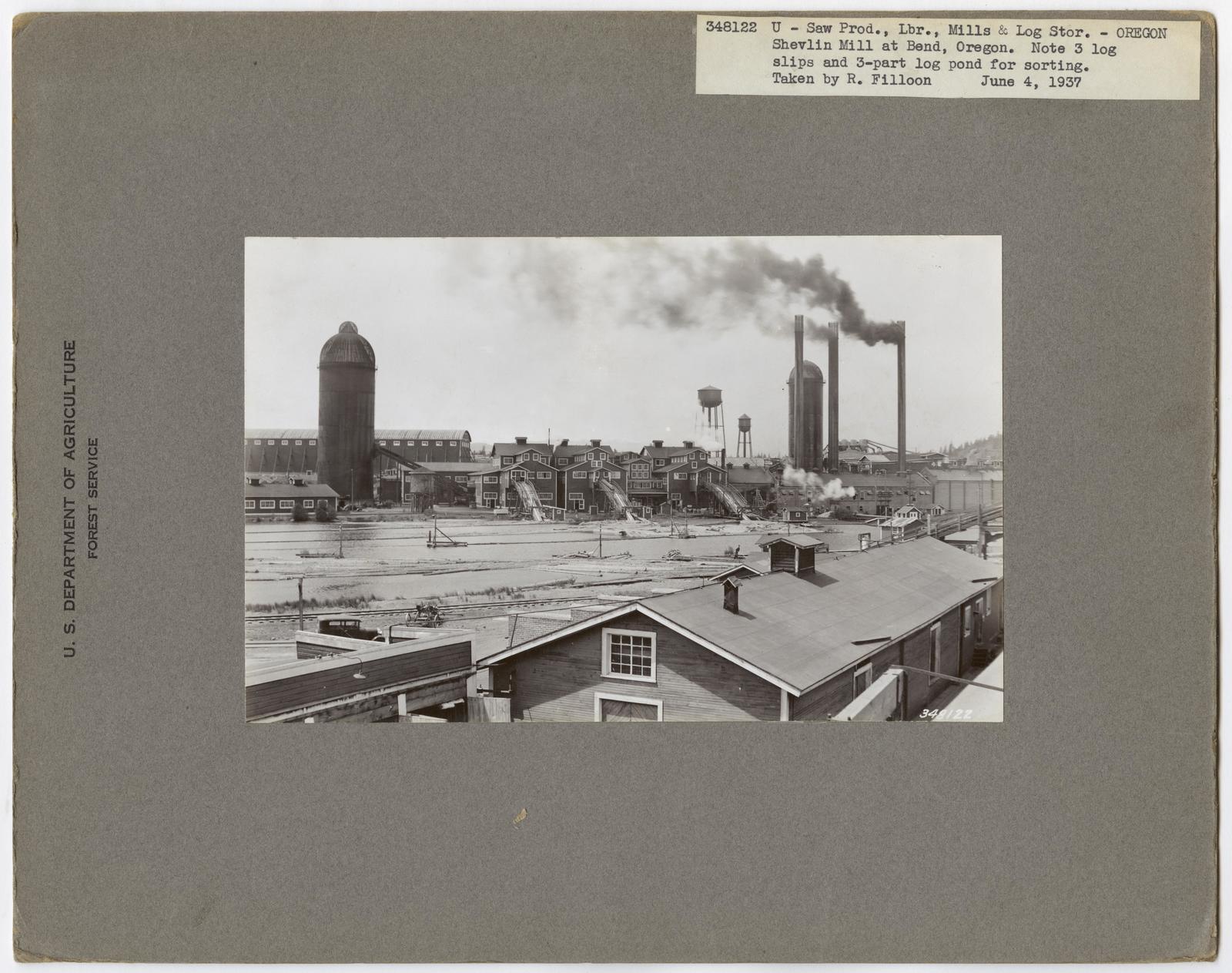 Large Sawmills - Oregon