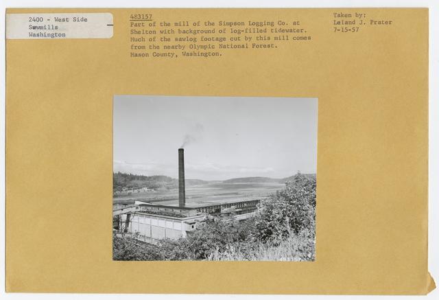 Logging: Camps & Crews: Exterior
