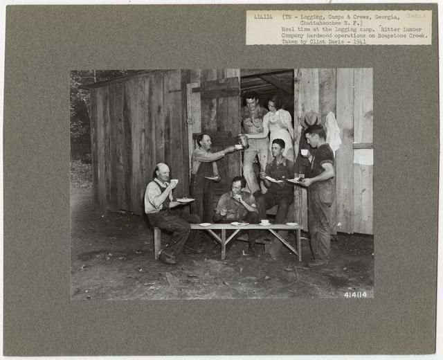 Logging Camps and Crews - Georgia