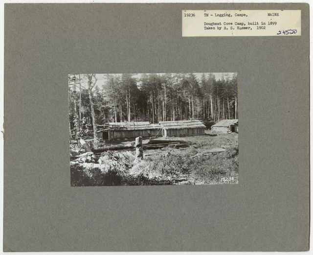 Logging Camps and Crews - Maine