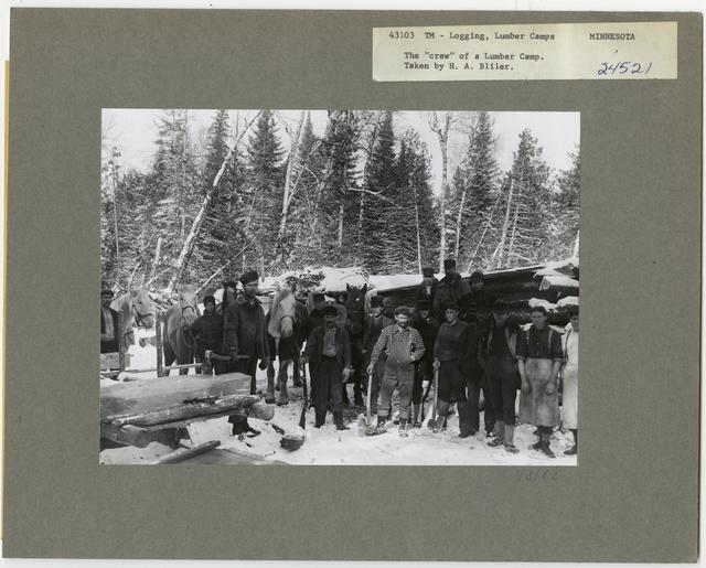 Logging Camps and Crews - Minnesota