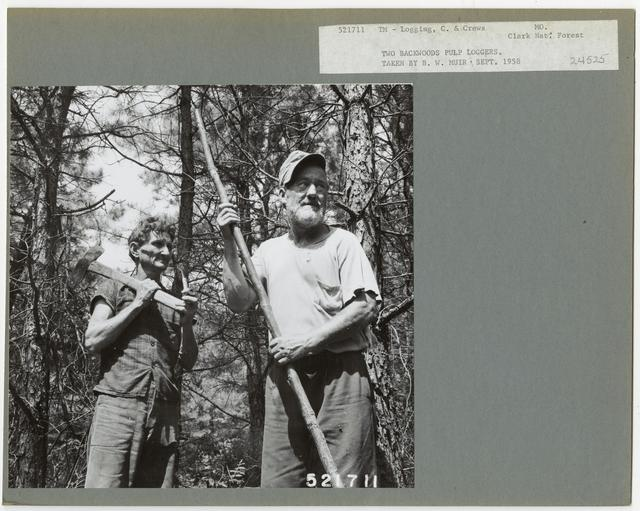 Logging Camps and Crews - Missouri