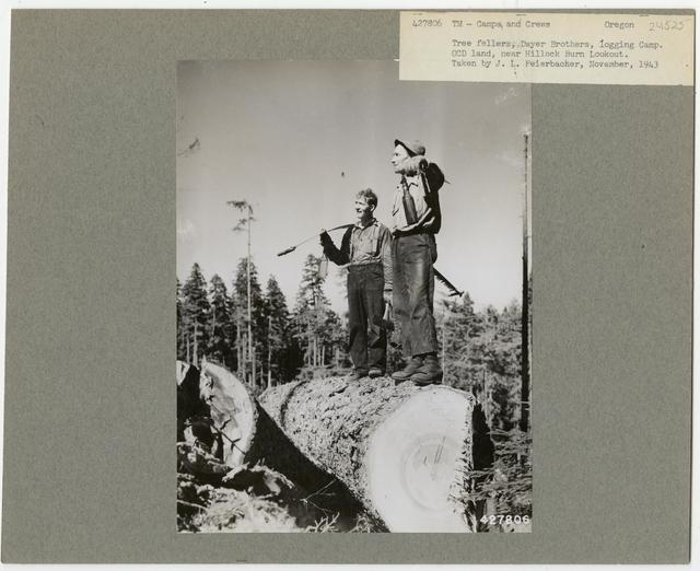 Logging Camps and Crews - Oregon