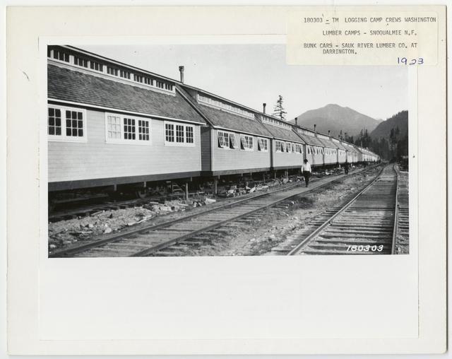Logging Camps and Crews - Washington
