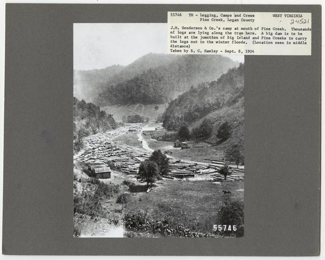 Logging Camps and Crews - West Virginia