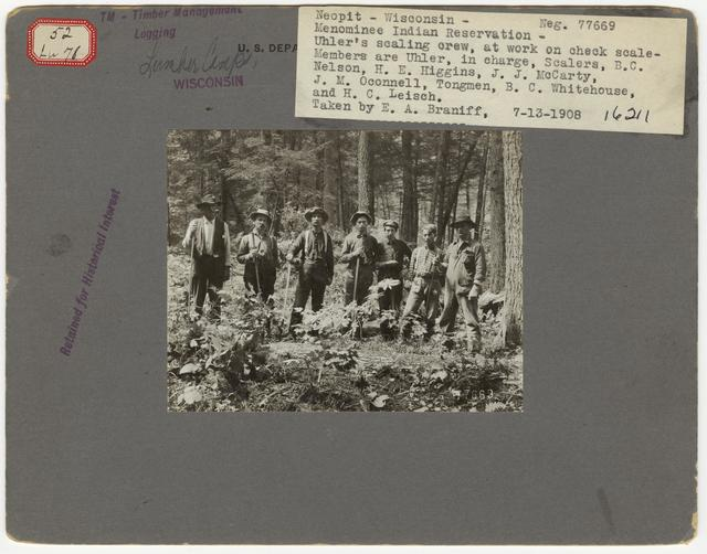 Logging Camps and Crews - Wisconsin