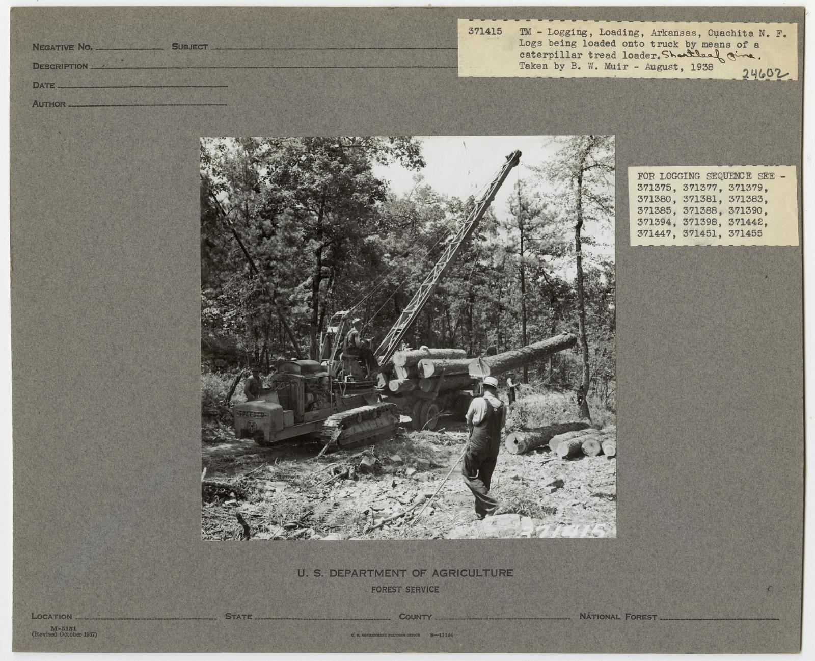 Logging: Loading Logs - Arkansas