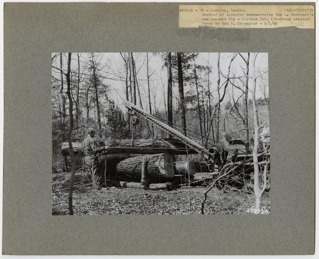 Logging: Loading Logs - Massachusetts