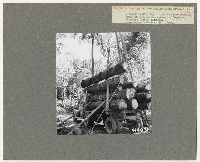 Logging: Loading Logs - Michigan