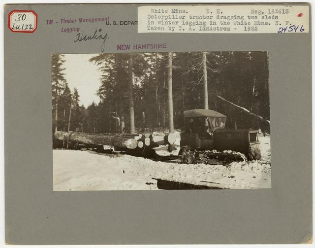 Logging: Skidding with Tractors - New Hampshire