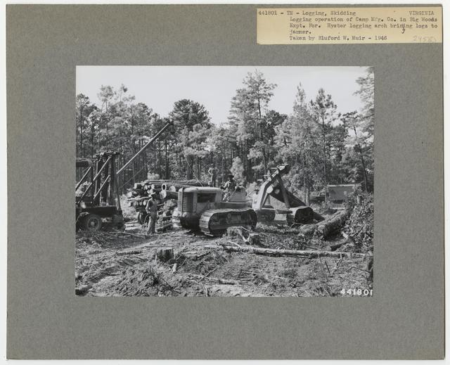 Logging: Skidding with Tractors - Virginia