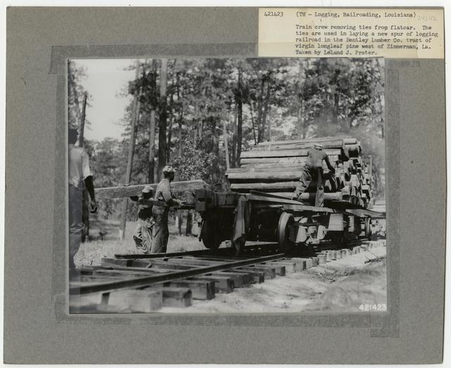 Logging: Transportation: Railroads - Louisiana