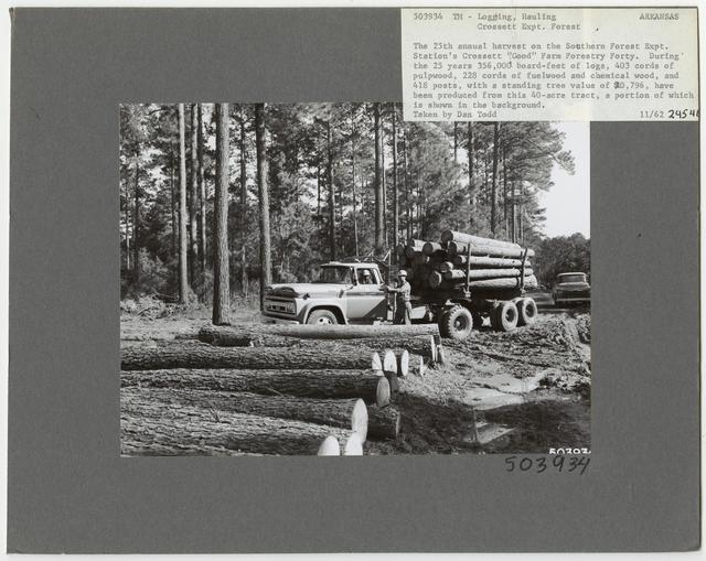 Logging: Transportation: Trucks - Arkansas