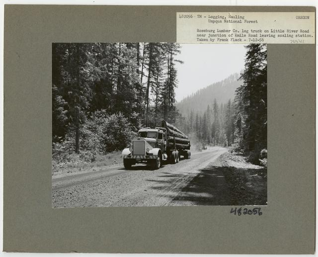 Logging: Transportation: Trucks - Oregon