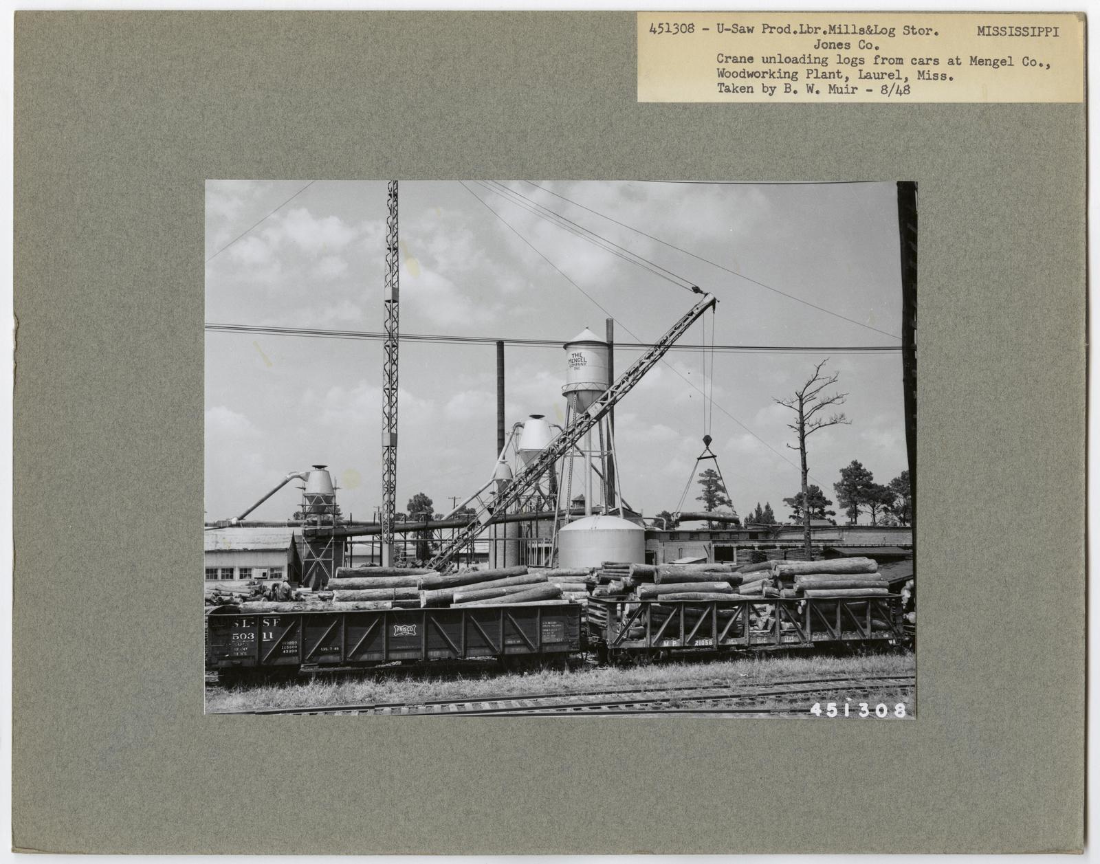 Mills, Milling and Log Storage - Mississippi