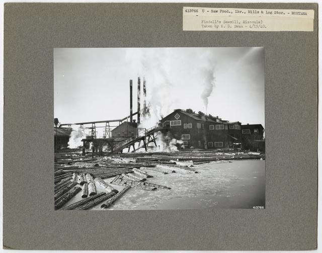 Mills, Milling and Log Storage - Montana