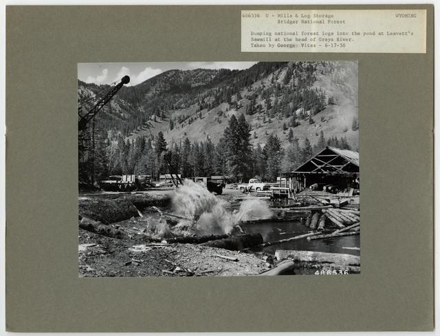 Mills, Milling and Log Storage - Wyoming