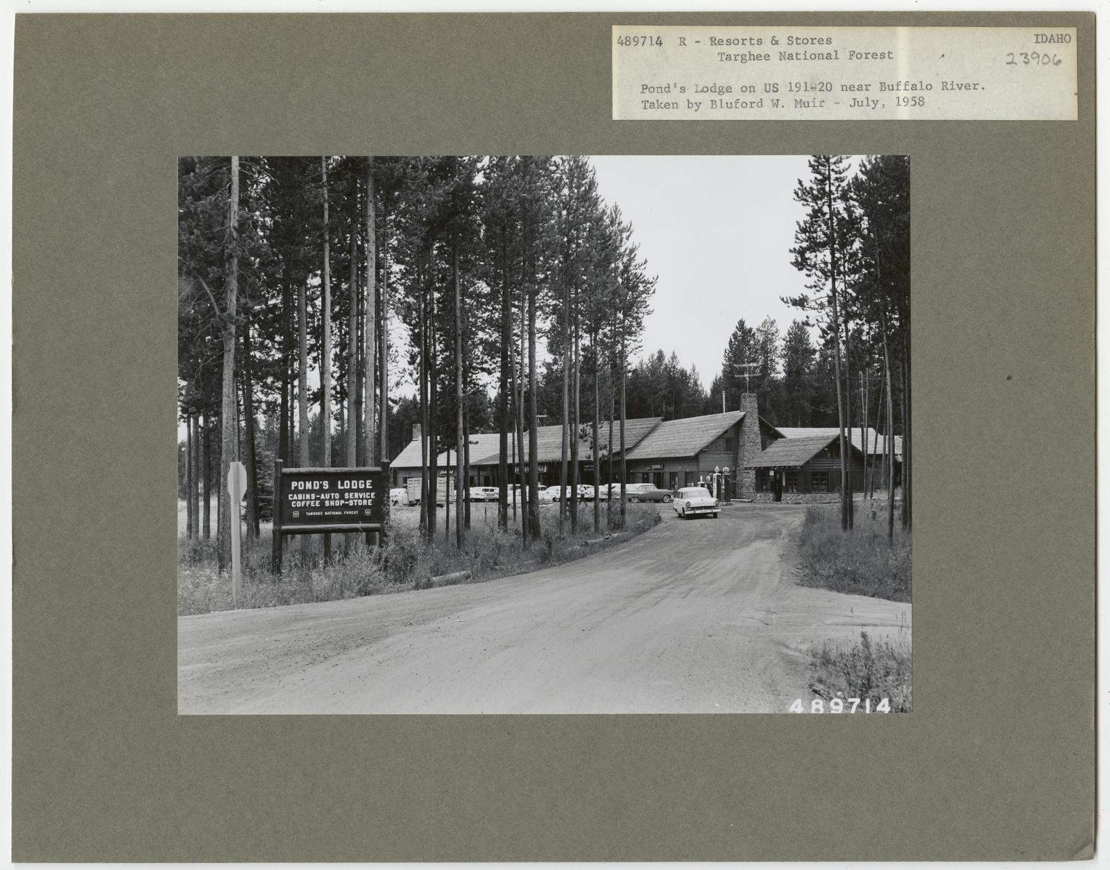 Resorts and Other Dwellings - Idaho