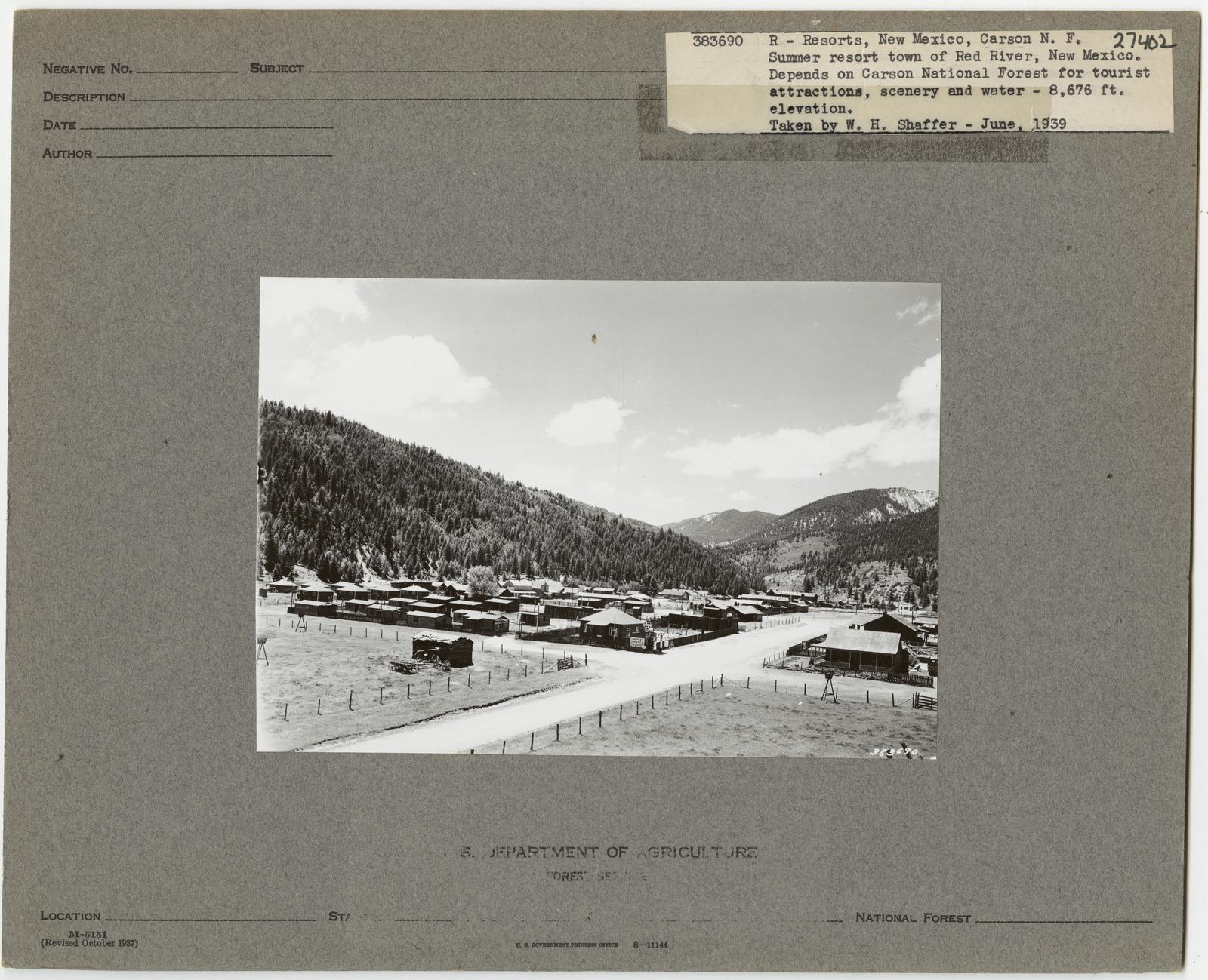 Resorts and Other Dwellings - New Mexico