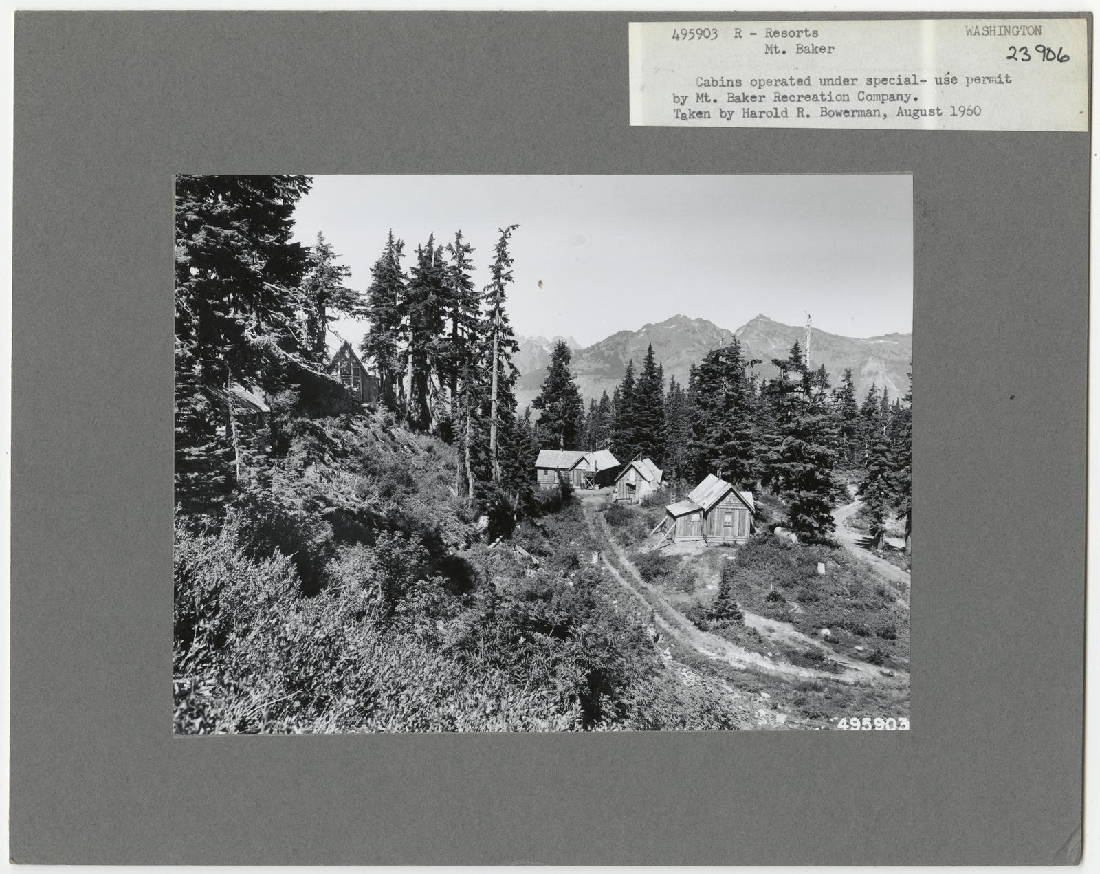 Resorts and Other Dwellings - Washington